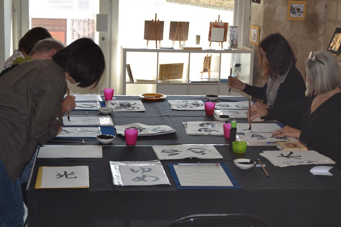 Atelier Calligraphie Yoko2